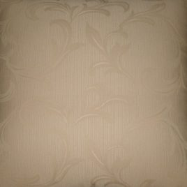 Cream paisley self print cushion cover