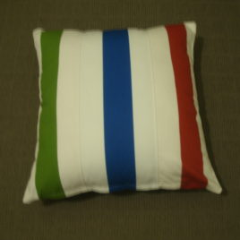Triple Stripe Cushion Cover