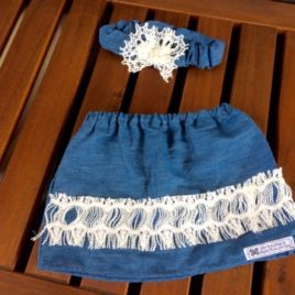 Size 1 Chambray and lace