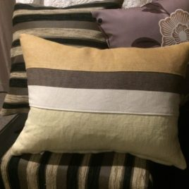 Caramel Flavour Cushion Cover