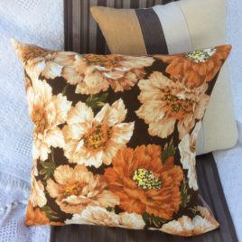 Vintage Floral Cushion Cover